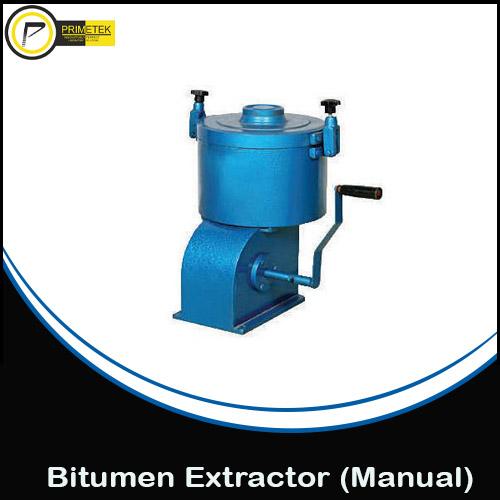 Bitumen Extractor (Hand Operated)